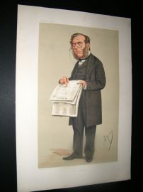 Vanity Fair Print 1874 James Johnstone